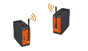 Wireless safety relays
